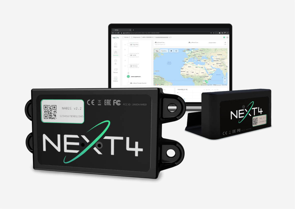NEXT4 extends its offer with a new tracker approved for air freight