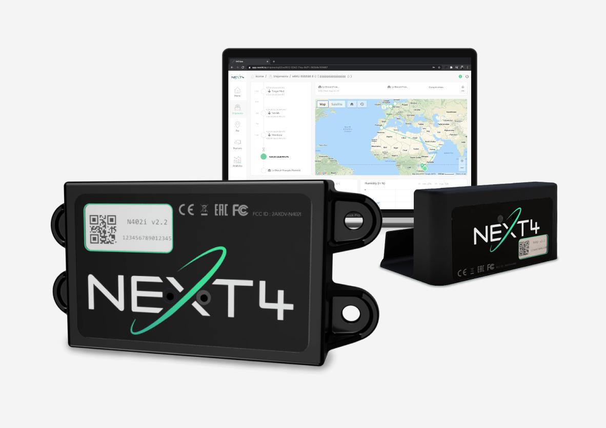 NEXT4 décline son offre  avec un nouveau tracker approuvé pour l'aérien