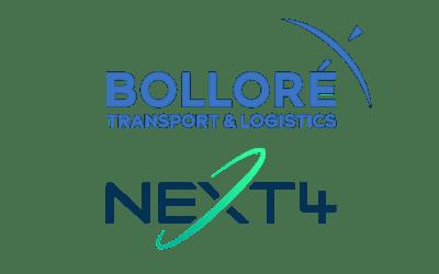 Bolloré T&L est partenaire de NEXT4